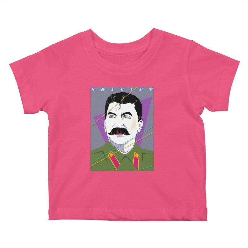 Solviet Nagel Kids Baby T-Shirt by Octophant's Artist Shop