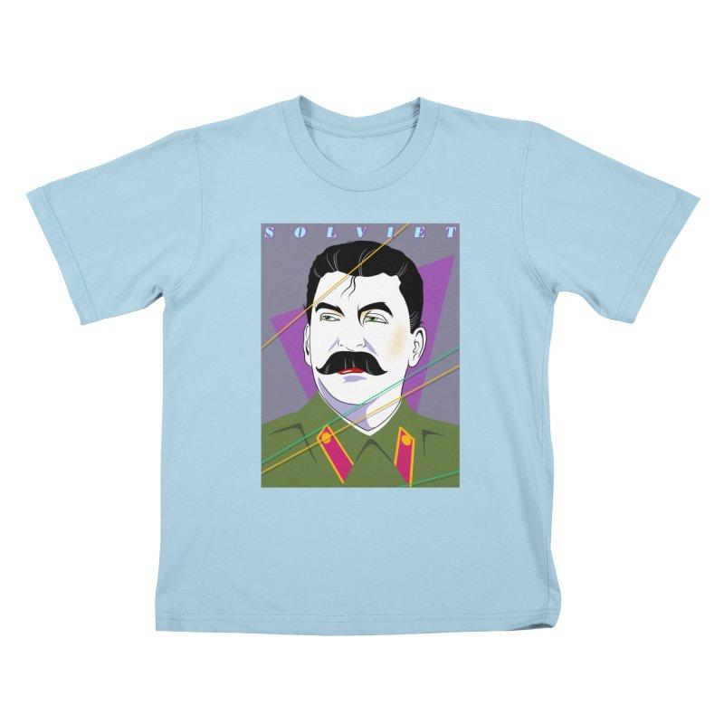 Solviet Nagel Kids T-Shirt by Octophant's Artist Shop