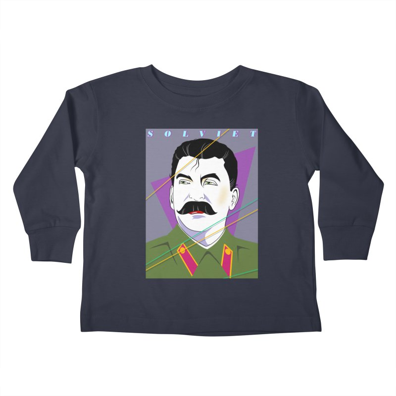 Solviet Nagel Kids Toddler Longsleeve T-Shirt by Octophant's Artist Shop