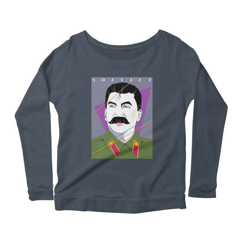 Solviet Nagel Women's Scoop Neck Longsleeve T-Shirt by Octophant's Artist Shop