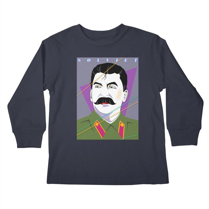 Solviet Nagel Kids Longsleeve T-Shirt by Octophant's Artist Shop