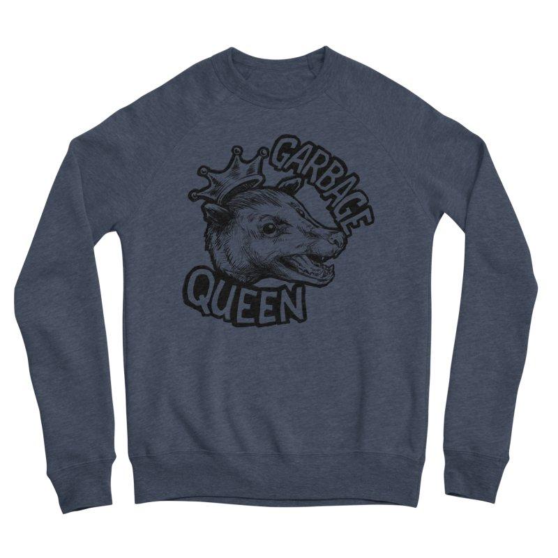 Garbage Queen (Black) Men's Sponge Fleece Sweatshirt by Octophant's Artist Shop