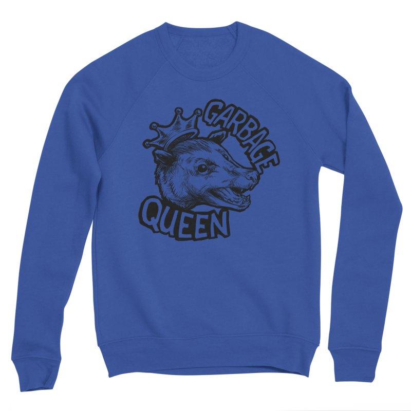 Garbage Queen (Black) Women's Sponge Fleece Sweatshirt by Octophant's Artist Shop