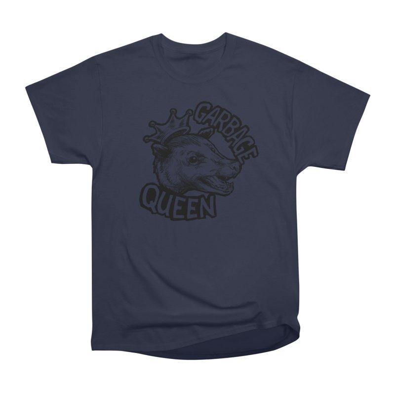 Garbage Queen (Black) Men's Heavyweight T-Shirt by Octophant's Artist Shop