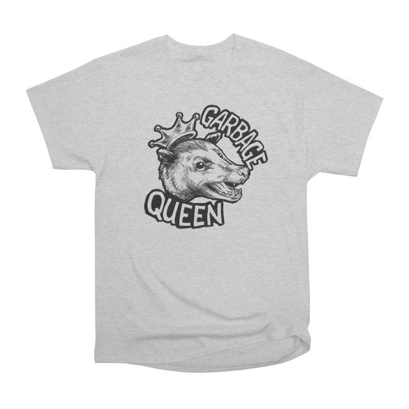Garbage Queen (Black) Women's Heavyweight Unisex T-Shirt by Octophant's Artist Shop