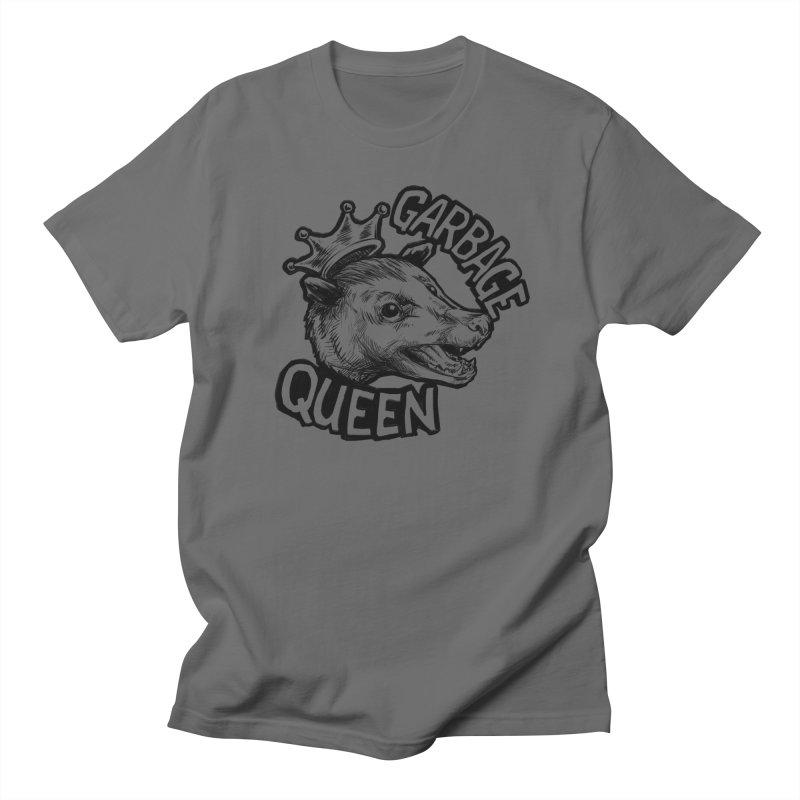 Garbage Queen (Black) Men's T-Shirt by Octophant's Artist Shop