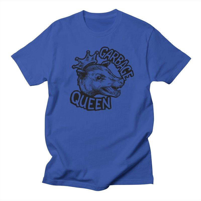 Garbage Queen (Black) Men's Regular T-Shirt by Octophant's Artist Shop
