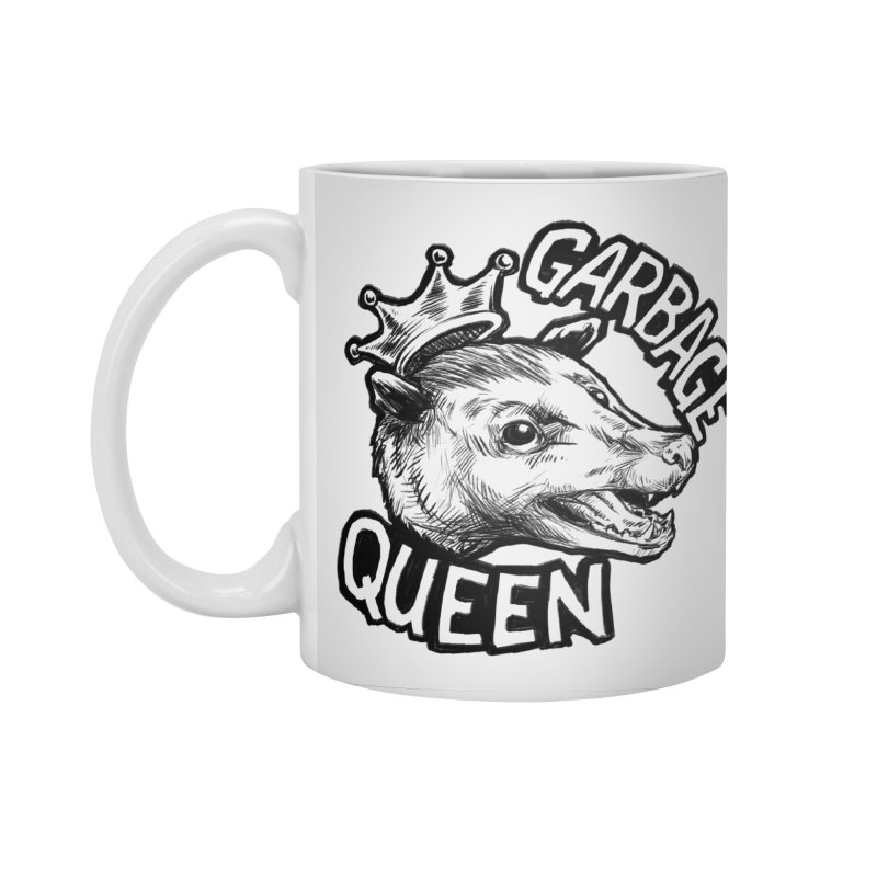 Garbage Queen (Black) Accessories Standard Mug by Octophant's Artist Shop