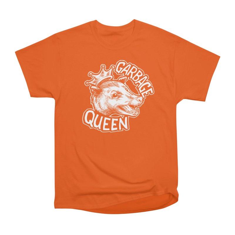 Garbage Queen (White) Men's Heavyweight T-Shirt by Octophant's Artist Shop