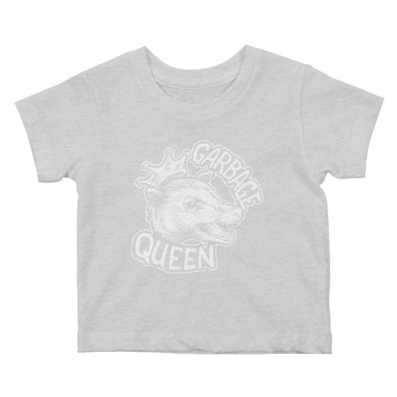Garbage Queen (White) Kids Baby T-Shirt by Octophant's Artist Shop