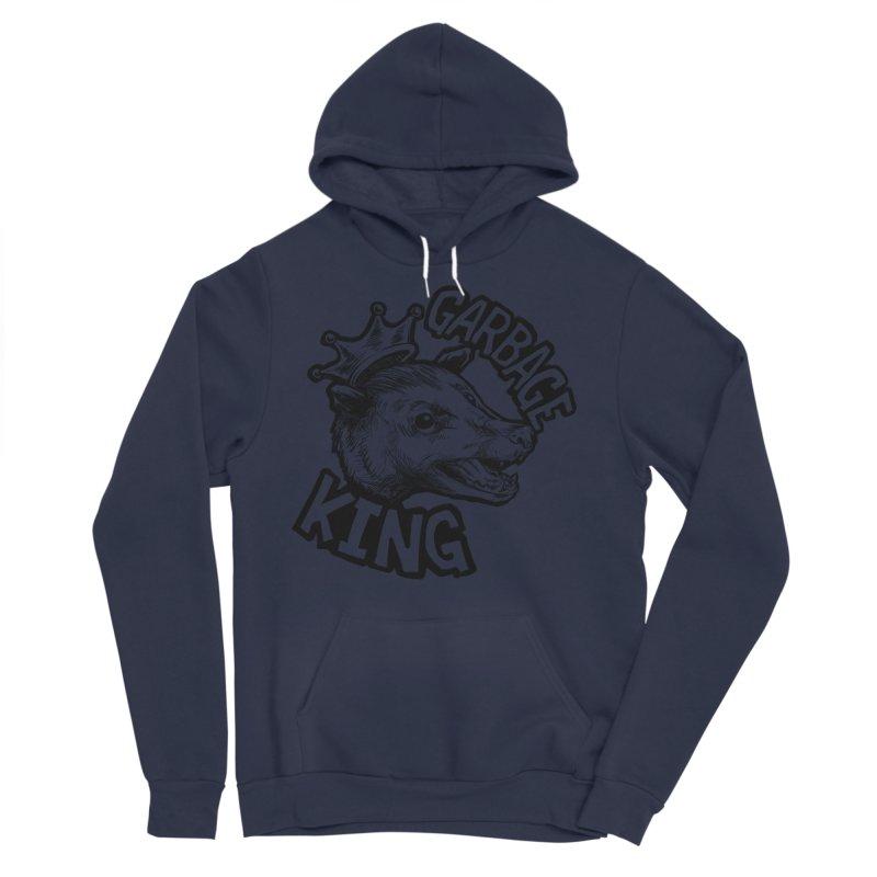 Garbage King (Black) Women's Sponge Fleece Pullover Hoody by Octophant's Artist Shop