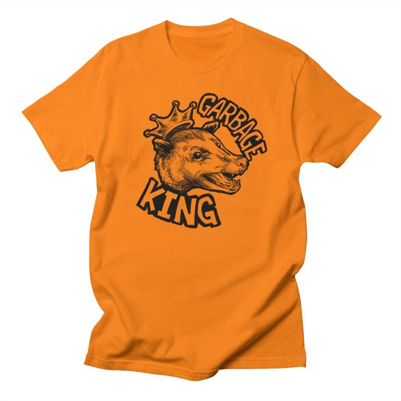 Garbage King (Black) Women's Regular Unisex T-Shirt by Octophant's Artist Shop