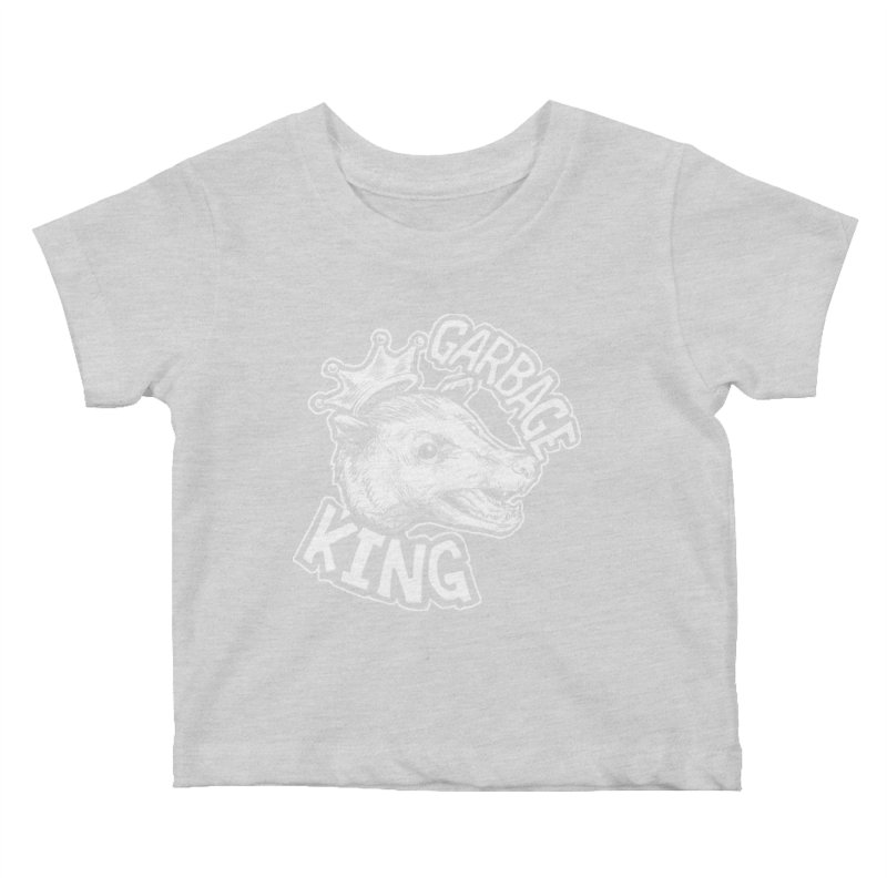 Garbage King (White) Kids Baby T-Shirt by Octophant's Artist Shop