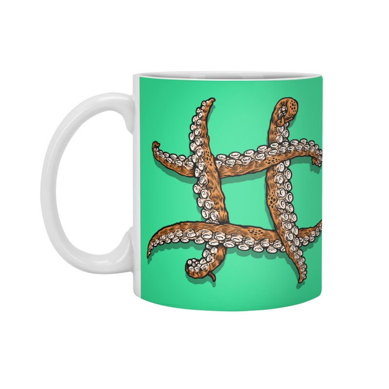 Octothorpe Accessories Standard Mug by Octophant's Artist Shop