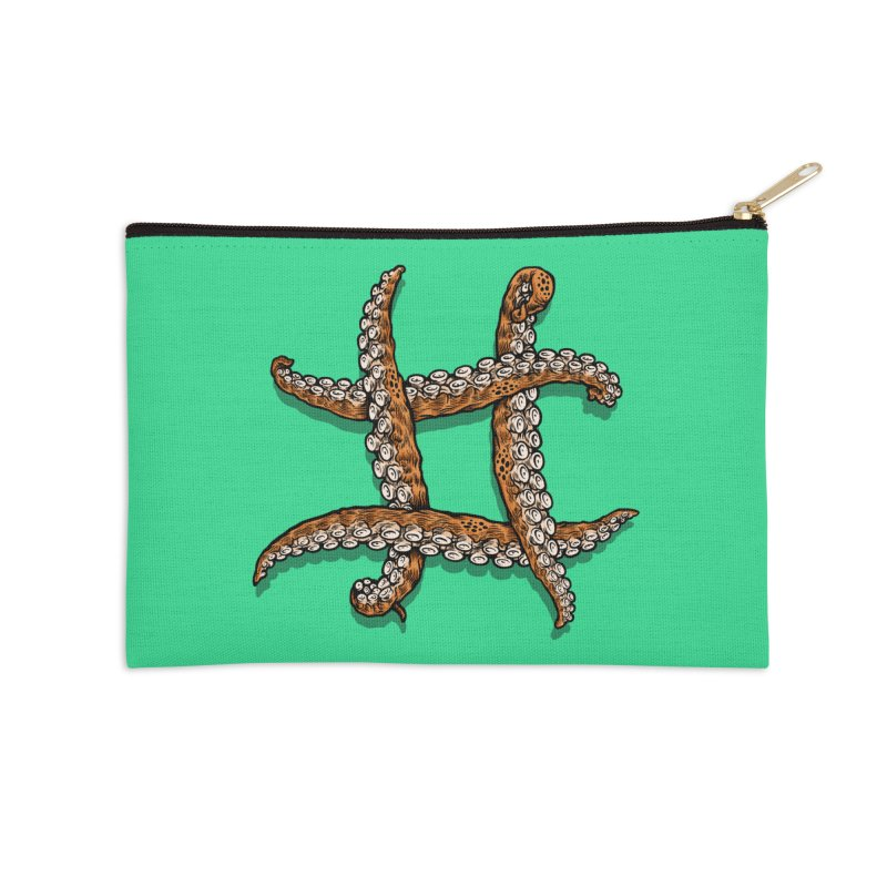 Octothorpe Accessories Zip Pouch by Octophant's Artist Shop