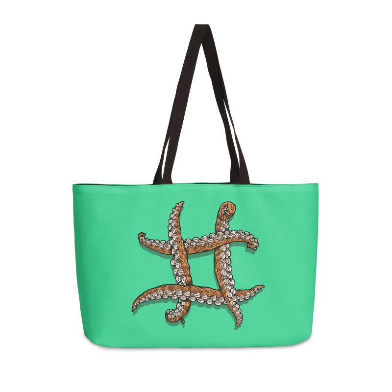 Octothorpe Accessories Weekender Bag Bag by Octophant's Artist Shop