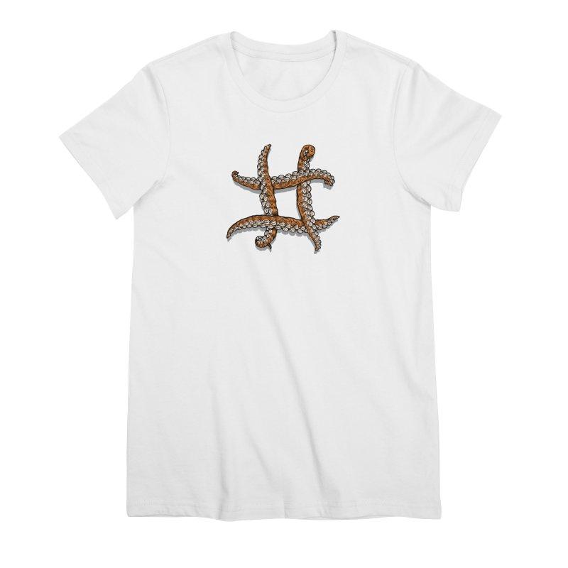 Octothorpe Women's Premium T-Shirt by Octophant's Artist Shop