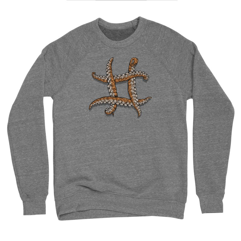 Octothorpe Men's Sponge Fleece Sweatshirt by Octophant's Artist Shop