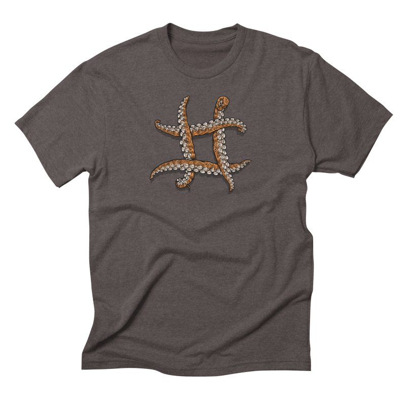 Octothorpe Men's Triblend T-Shirt by Octophant's Artist Shop