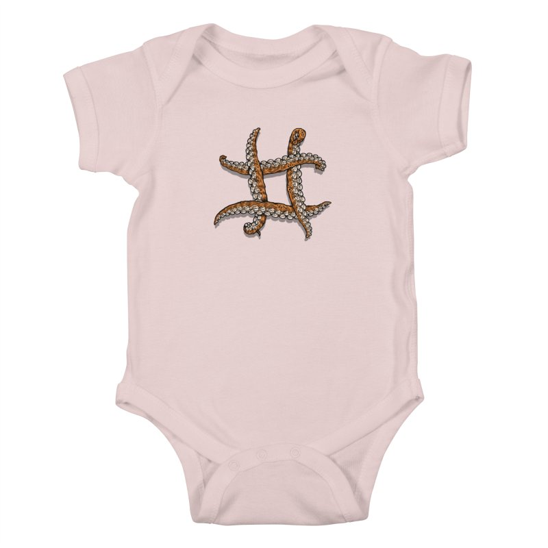 Octothorpe Kids Baby Bodysuit by Octophant's Artist Shop
