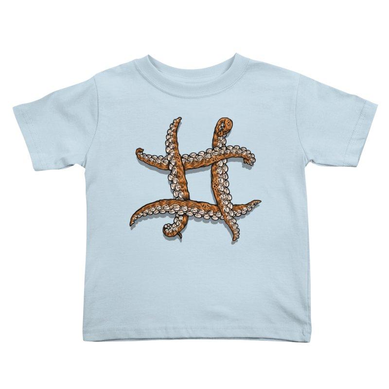 Octothorpe Kids Toddler T-Shirt by Octophant's Artist Shop