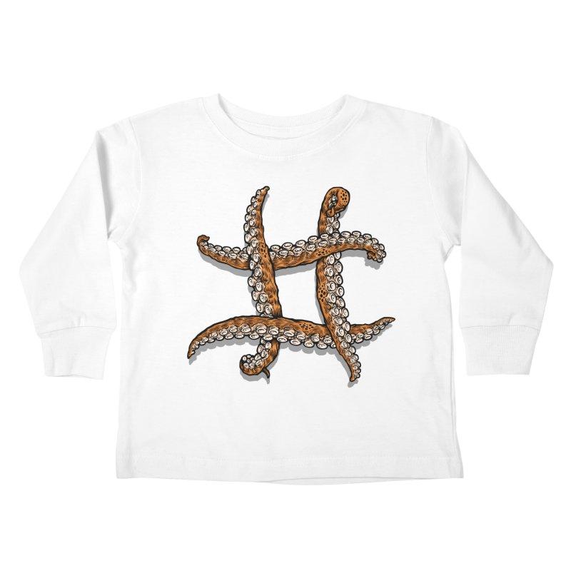 Octothorpe Kids Toddler Longsleeve T-Shirt by Octophant's Artist Shop