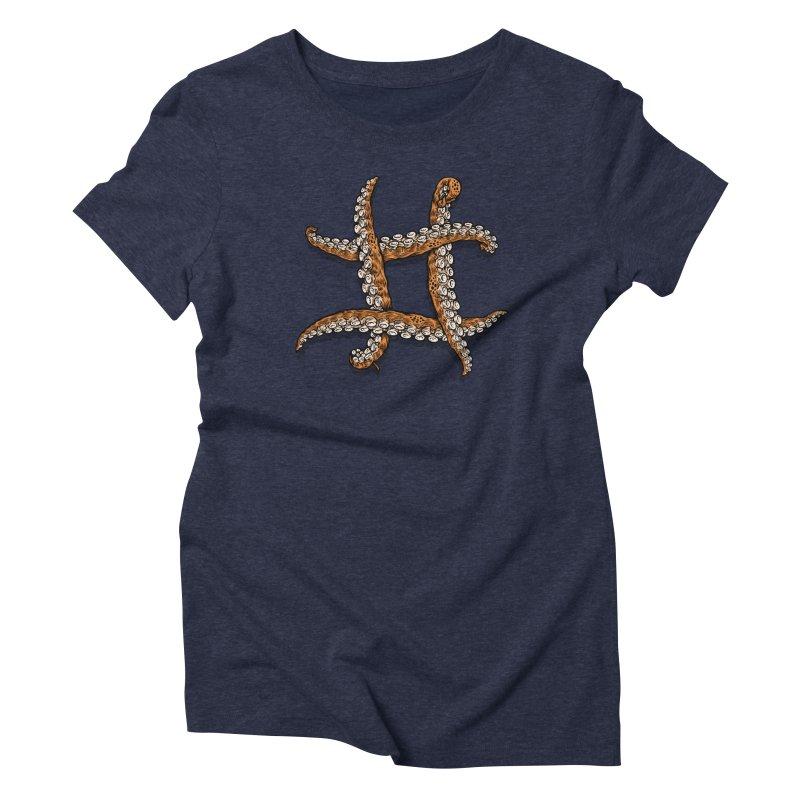 Octothorpe Women's Triblend T-Shirt by Octophant's Artist Shop