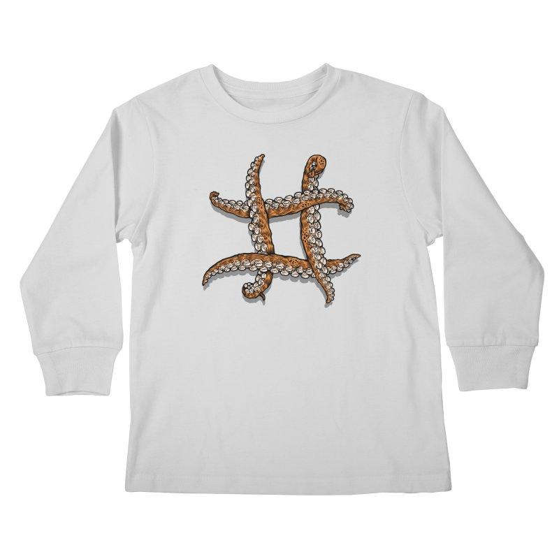 Octothorpe Kids Longsleeve T-Shirt by Octophant's Artist Shop