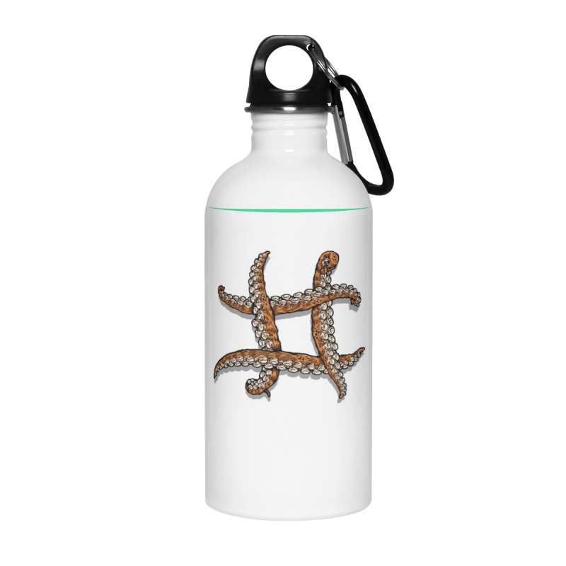 Octothorpe Accessories Water Bottle by Octophant's Artist Shop