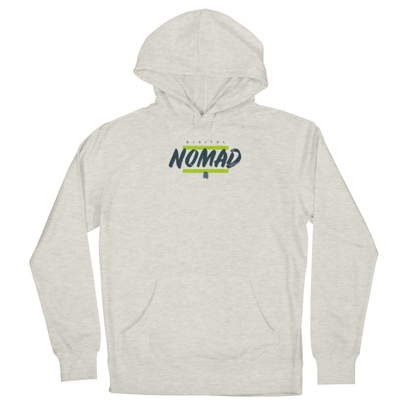 The Nomad Men's Pullover Hoody by octopy