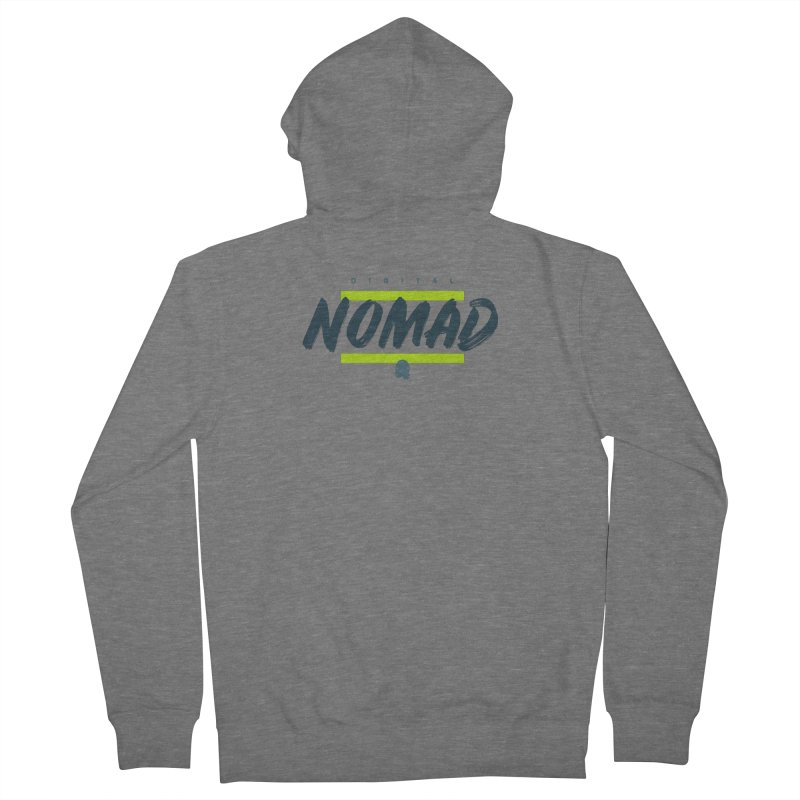 The Nomad Women's Zip-Up Hoody by octopy