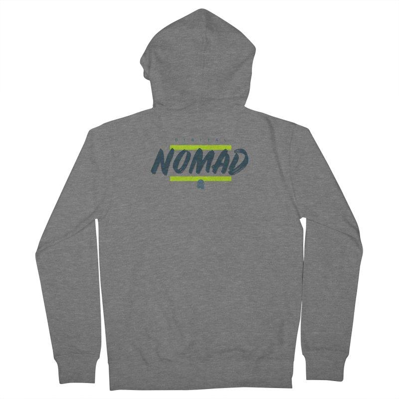 The Nomad Men's Zip-Up Hoody by octopy