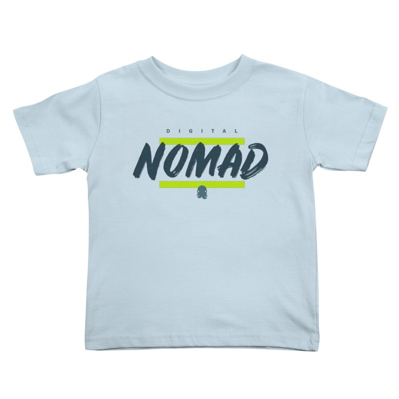 The Nomad Kids Toddler T-Shirt by octopy