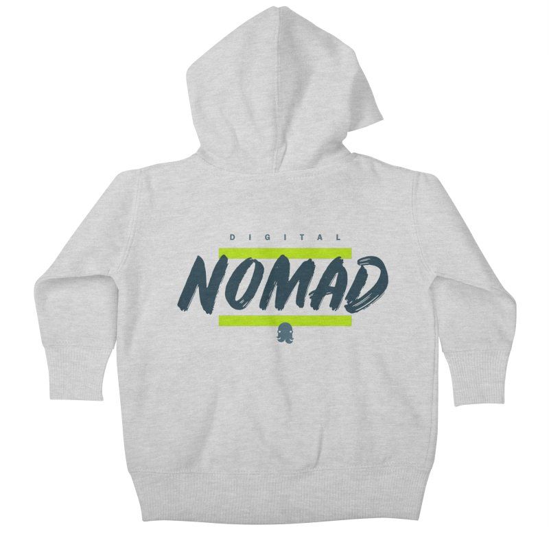 The Nomad Kids Baby Zip-Up Hoody by octopy