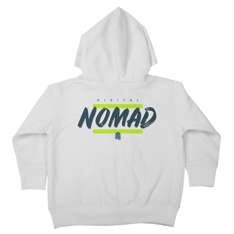 The Nomad Kids Toddler Zip-Up Hoody by octopy