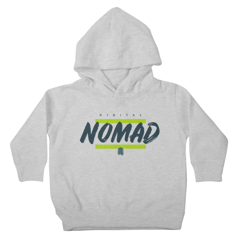 The Nomad Kids Toddler Pullover Hoody by octopy