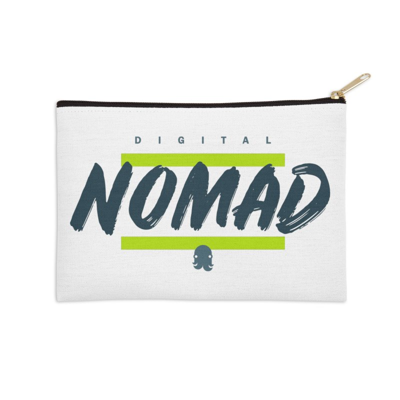 The Nomad Accessories Zip Pouch by octopy