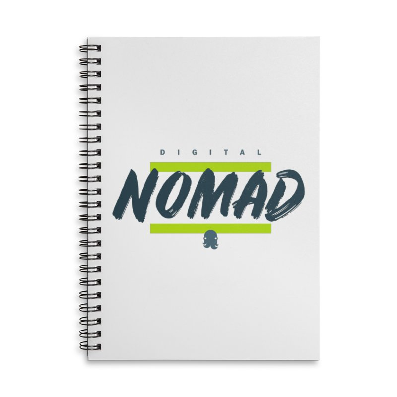 The Nomad Accessories Notebook by octopy