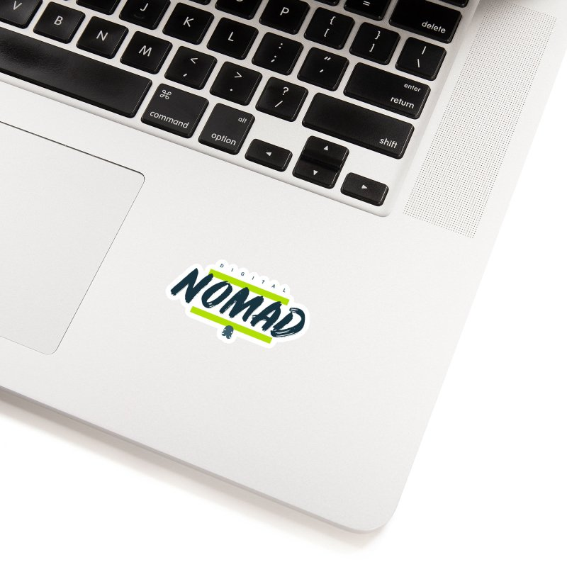 The Nomad Accessories Sticker by octopy