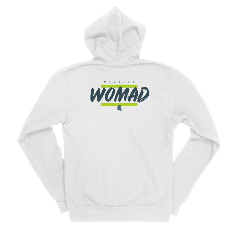 The Womad Women's Zip-Up Hoody by octopy