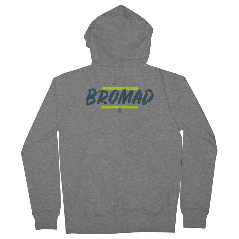 The Bromad Men's Zip-Up Hoody by octopy
