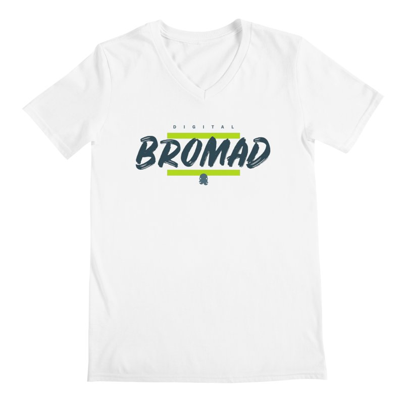 The Bromad Men's V-Neck by octopy