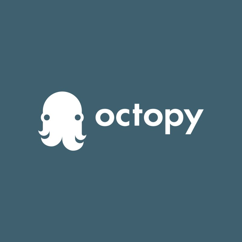 Octopy Logo White Kids Baby T-Shirt by octopy