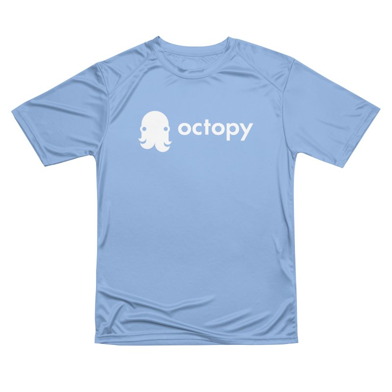 Octopy Logo White Men's T-Shirt by octopy