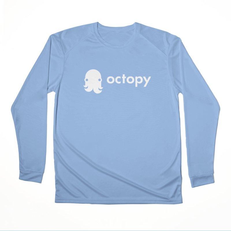 Octopy Logo White Women's Longsleeve T-Shirt by octopy