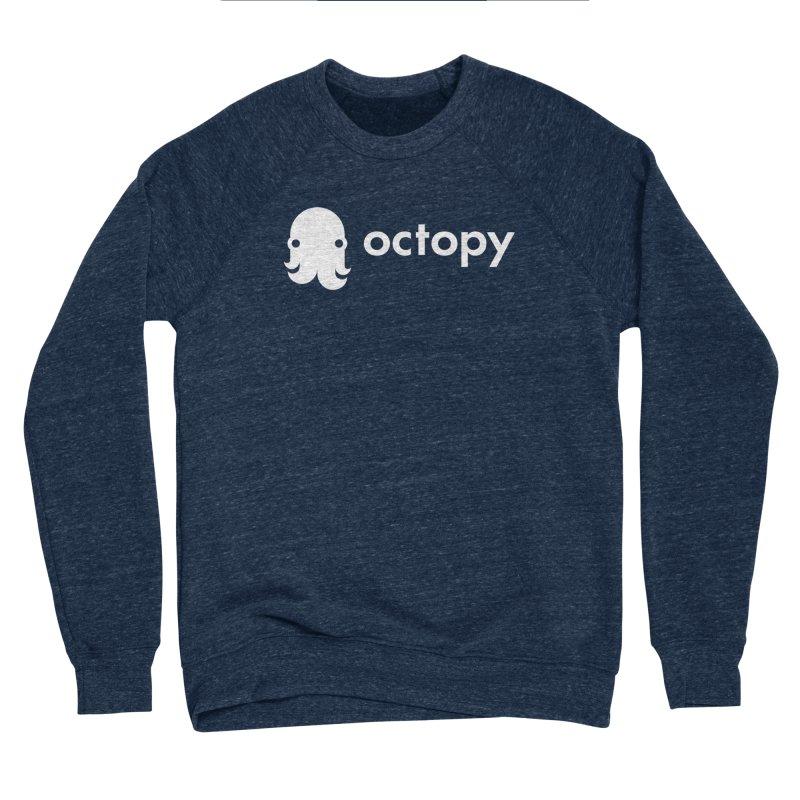 Octopy Logo White Women's Sweatshirt by octopy
