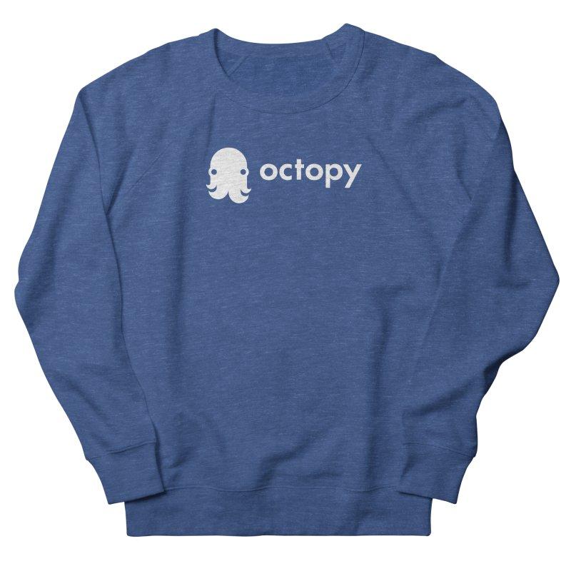 Octopy Logo White Men's Sweatshirt by octopy
