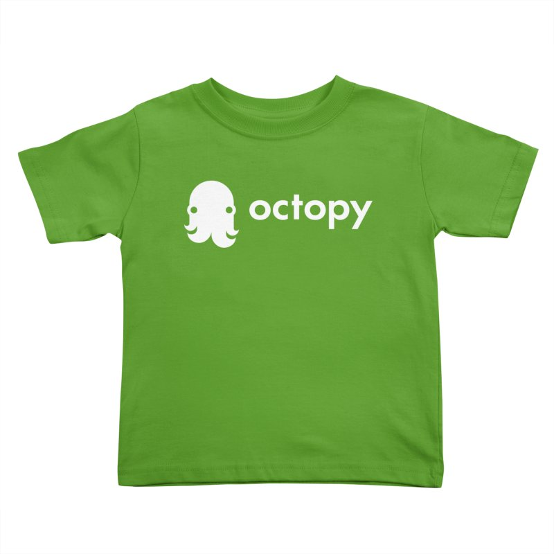 Octopy Logo White Kids Toddler T-Shirt by octopy