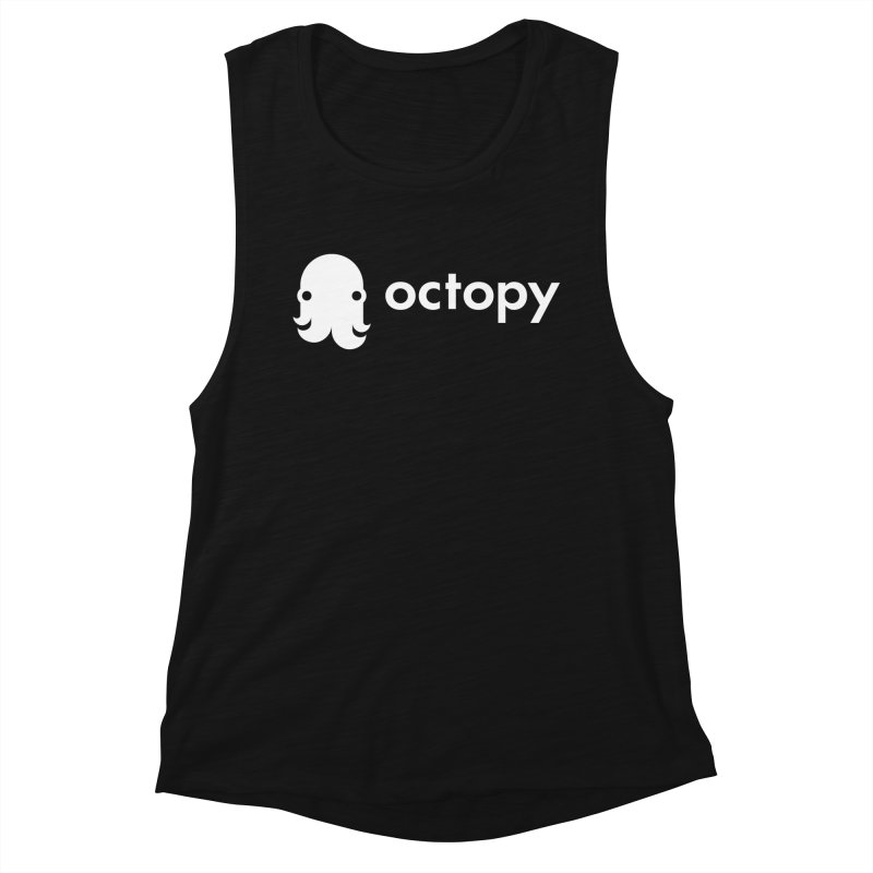 Octopy Logo White Women's Tank by octopy