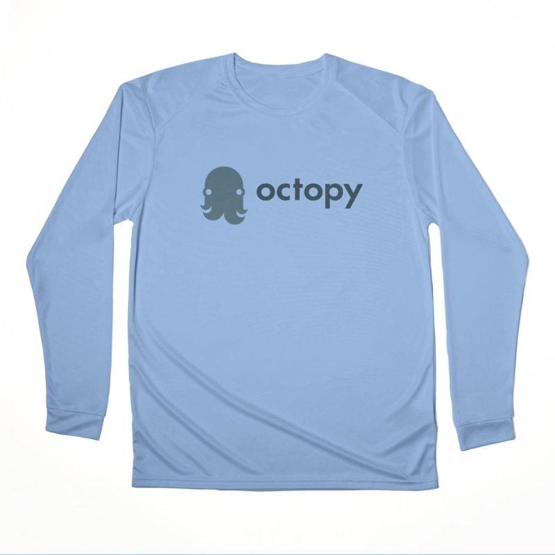 Octopy Logo Dark Women's Longsleeve T-Shirt by octopy